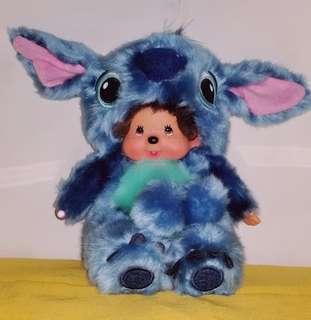 Kawaii KikI Doll Plush in Stitch Costume