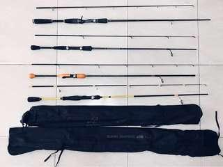 🚚 Fishing rod all 4 sets