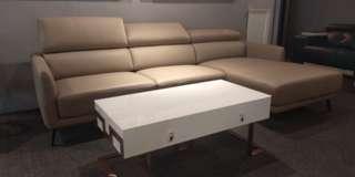 Italy genuine leather sofa