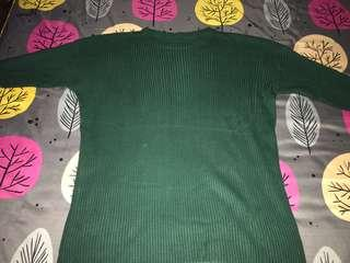 loose sweater army