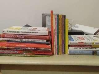 Cookbooks, business, and a bunch of others
