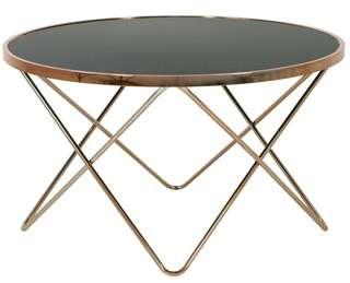 🚚 Carafa Round Table (Black+Rose Gold)