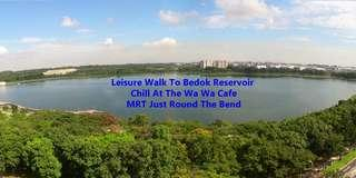 Good Size 893sqft for 2 Bedders.Near MRT & Bedok Reservoir