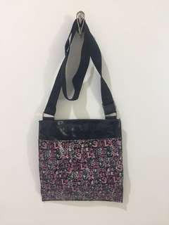 Girls Glitter Sling Bag