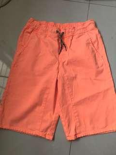 Cat & Jack Orange Bermuda's for Big Girl XL (16)