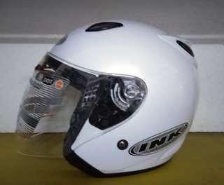 Helm INK Centro Jet White