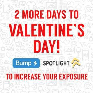 Increase your listing's exposure this vday!