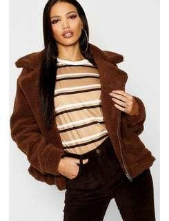Teddy jacket (rrp $102)
