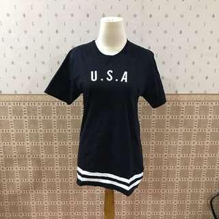 Erigo black USA t-shirt (unisex)