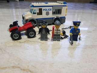 Lego city police 60043 prisoner transport