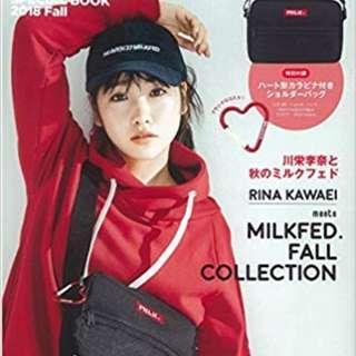 全新日本雜誌Milkfed 斜咩袋