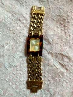 Guess Gold Rustic Watch