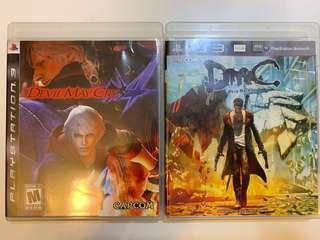 PS3, Lost Planet 2, DMC, Devil May Cry, Resistance, Assassins Creeds 刺客,黑旗