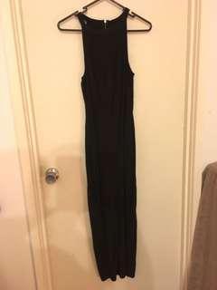 Slimming split dress