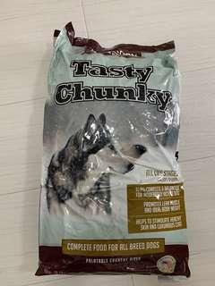 Selling cheap! Dog Food, very big bag.TASTY CHUNKY,  18.14kg; ; SINCERE BUYERS ONLY