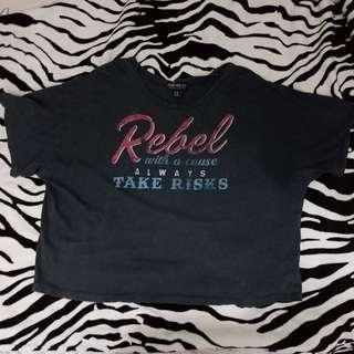 Forever 21 plus rebel shirt 3xL