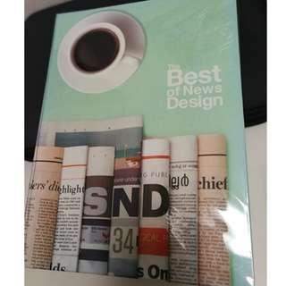 The Best of News Design SND 34/Newspaper Layout Design book