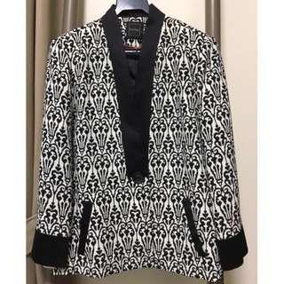 Almost New Blum and Co Ikat Print Jacket