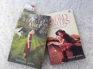 Bundling Novel Terjemahan: Beautiful Malice & The Weird Sisters