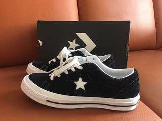 Converse one star 麂皮(us7=25.5cm)