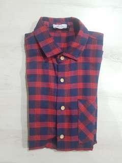 JAXON short sleeve flannel