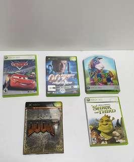Vintage  xbox games lot