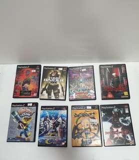 PLAYSTAION 2 NTSC JAPAN VERSION  GAME LOT