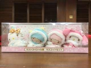 Little Twin Stars 公仔 kitty My Melody 一盒4個抽獎限量公仔