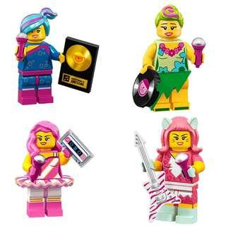 Lego Movie 2 71023 Popular Band CMF figures