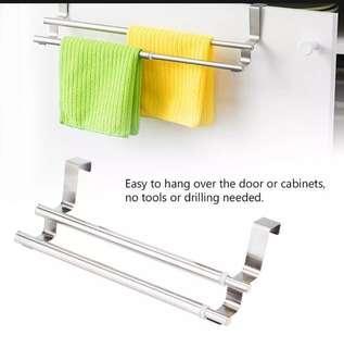 Double Bar Towel Rack