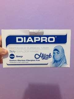 Masker hijab diapro