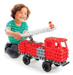 🚚 BRAND NEW Little Tikes Waffle Blocks Vehicle Fire Truck