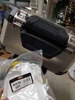 🚚 Kappa K639 Backrest for Kappa K-VENTURE KVE 58L or GIVI OUTBACK OBK 58L (Installed on 12th Feb 2019)