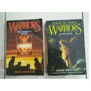 2 Books Warriors ( ERIC HUNTER )