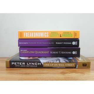 DECLUTTERING - BOOKS FOR SALE ( BUSINESS )