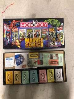 Marvel comics monopoly 復仇者聯盟大富翁