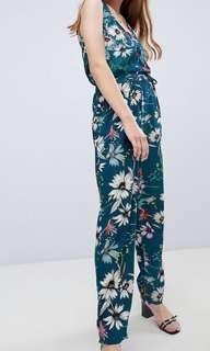 Brave Soul Floral jumpsuit (ASOS)