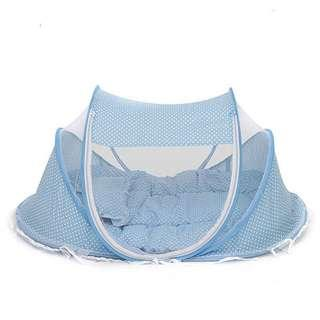 Baby Foldable Mattress with Mosquito Net