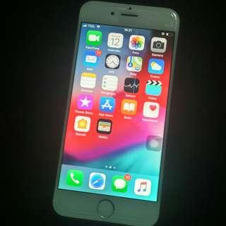 Iphone 6 silver white