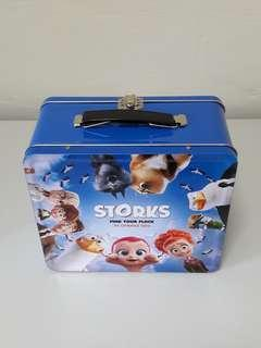 Storks Metal Lunch Box