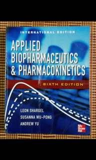 Applied Biopharmaceutics & Pharmacokinetics, Sixth Edition (第六版)