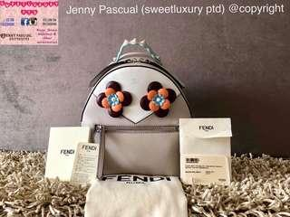 BRANDNEW FENDI FLOWERLAND BACKPACK MINI