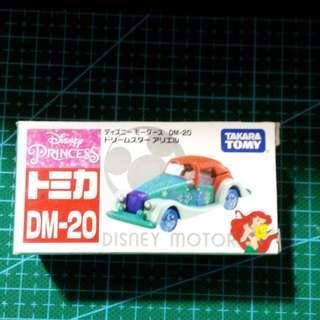 Takara Tomy Tomica Disney Motors迪士尼 DM-20 Dream Star 小魚仙 美人魚 Ariel Diecast