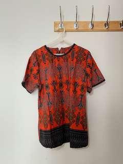#sharethe love Batik Orange