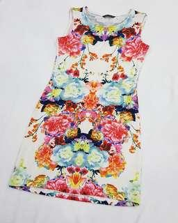 Imported Short Floral Dress