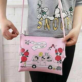 Cartoon Sling bag