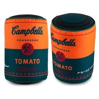 Andy Warhol Campbell's Soup Can Medium Plush