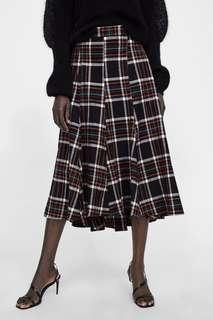 Black Tartar skirt