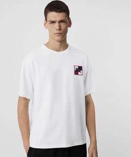 Burberry logo t shirt