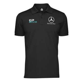 Mercedes Benz Collar Shirt S